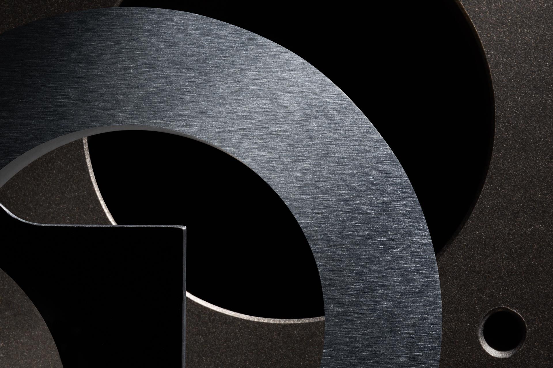 Fotografo dei metalli stilli life alluminio